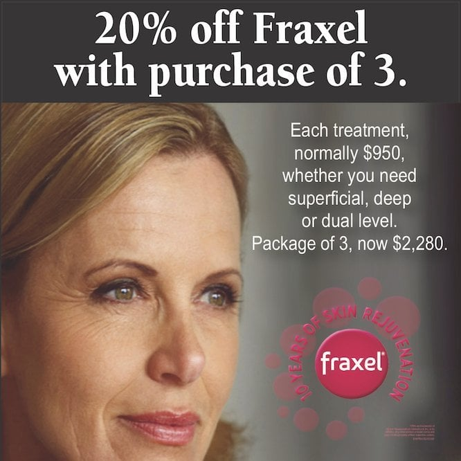Fraxel Special Offer