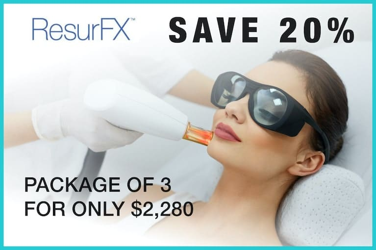 ResurFX Laser Skin Resurfacing Package